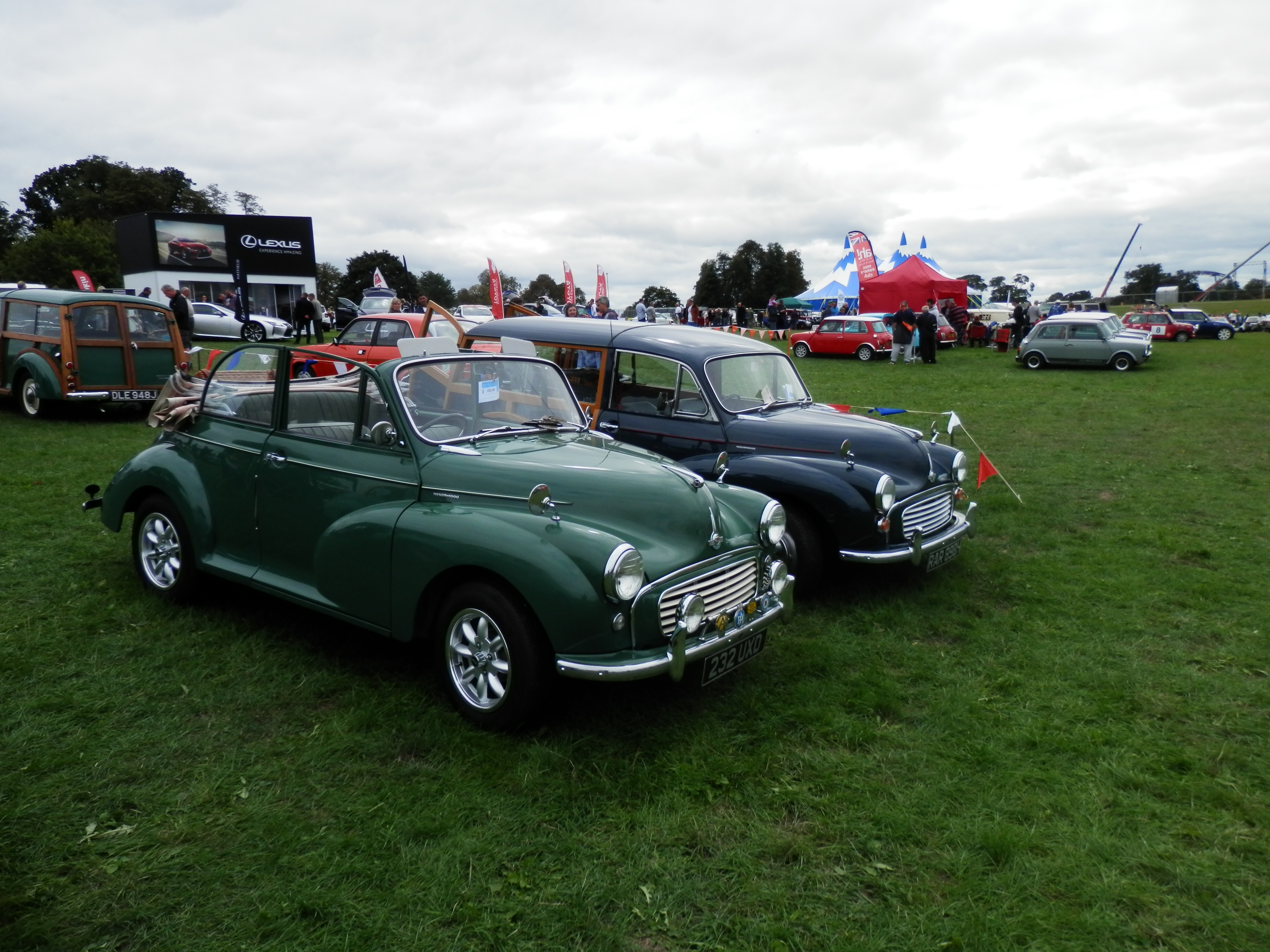 Knebworth Classic Car Show - 27 August 2018