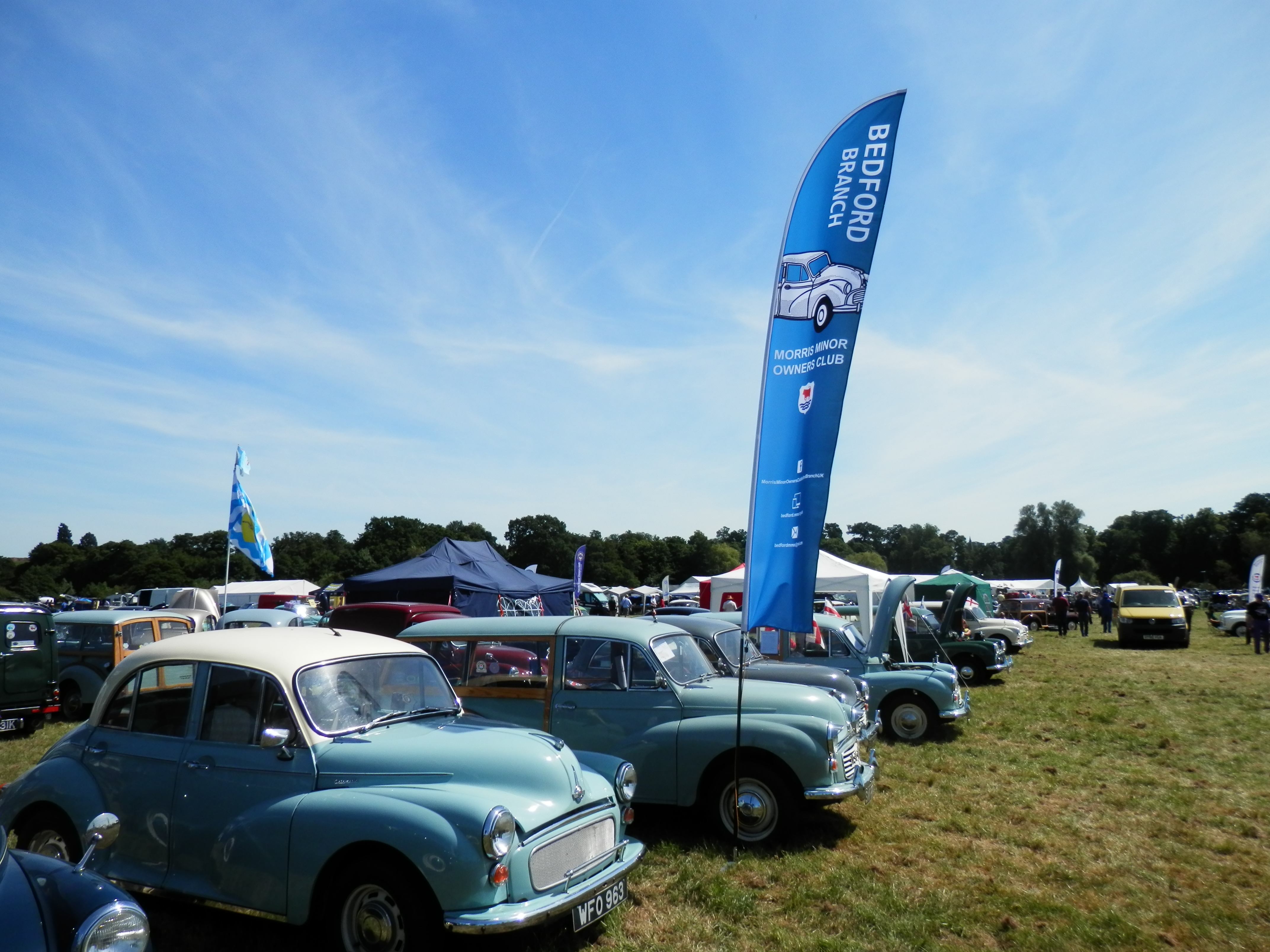 Bedford Branch at the National Rally  Kelmarsh Hall June 2018